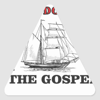 gospel arch triangle sticker