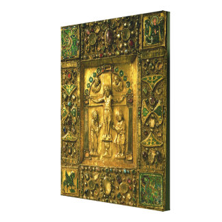 Gospel Cover, Ottonian, Germany, 11th century (gol Canvas Print