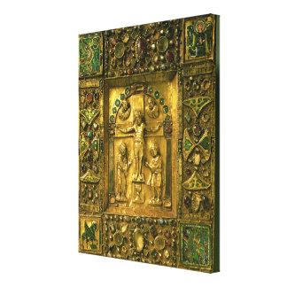 Gospel Cover, Ottonian, Germany, 11th century (gol Canvas Print