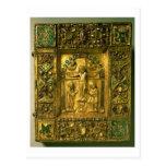 Gospel Cover, Ottonian, Germany, 11th century (gol Postcard