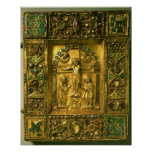Gospel Cover, Ottonian, Germany, 11th century (gol Print