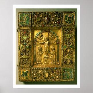 Gospel Cover, Ottonian, Germany, 11th century (gol Poster