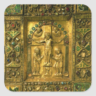 Gospel Cover, Ottonian, Germany, 11th century (gol Square Sticker