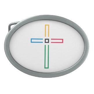 Gospel Cross Belt Buckle
