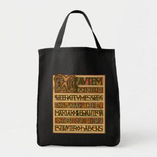 Gospel History of St. Matthew 8th Century Grocery Tote Bag