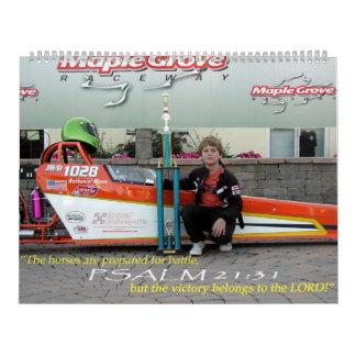 Gospel Motorsports 2010 Wall Calendar