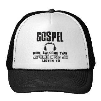 gospel music design trucker hats