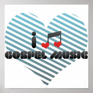 Gospel Music Poster