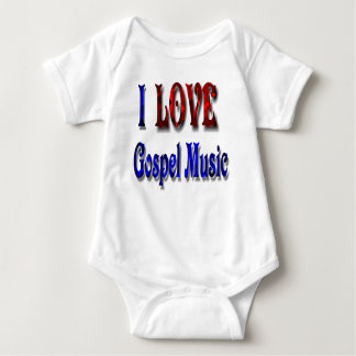 GOSPEL MUSIC-T-SHIRT BABY BODYSUIT