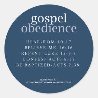 Gospel Obedience Sticker