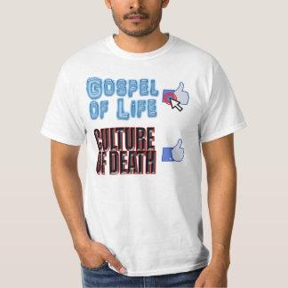 Gospel of Life, Culture of Death T-Shirt