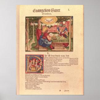 Gospel of St.Matthew, Book I Poster