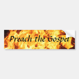 Gospel Reminder Bumper Sticker