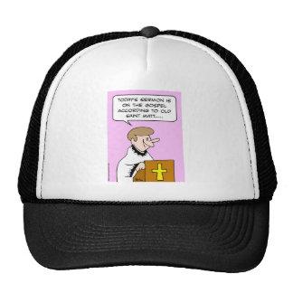 gospel saint matt mesh hats