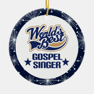 Gospel Singer Gift Ornament