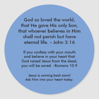 Gospel Stickers