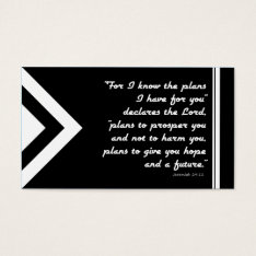 Gospel Tract Plan Of Salvation Black And White Business Card at Zazzle