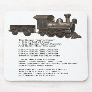 GOSPEL TRAIN--MOUSEPAD MOUSE PAD