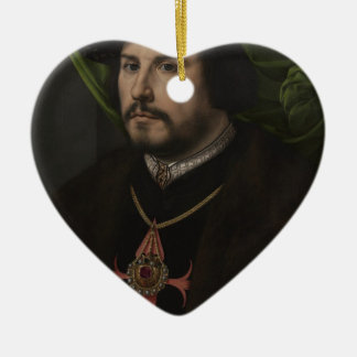 Gossaert - Portrait of Francisco de los Cobos y Mo Christmas Ornaments
