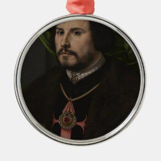 Gossaert - Portrait of Francisco de los Cobos y Mo Ornament