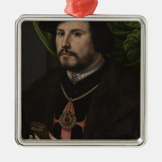 Gossaert - Portrait of Francisco de los Cobos y Mo Christmas Ornament