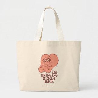 Gossamer - Bringing Nerdy Back Large Tote Bag