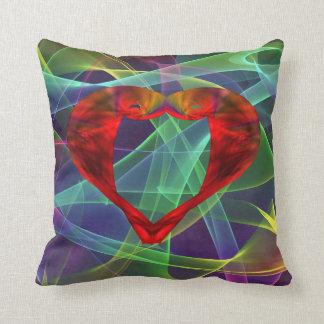 Gossamer Heart Throw Pillow