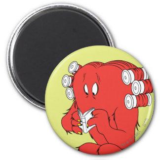 Gossamer Reading - Full Color 2 Inch Round Magnet