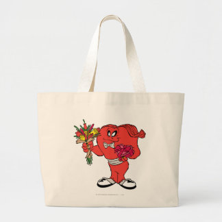 Gossamer with roses large tote bag