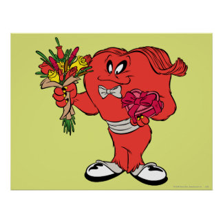 Gossamer with roses poster