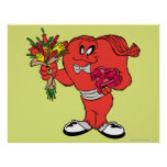 Gossamer with roses posters