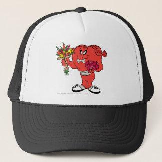 Gossamer with roses trucker hat