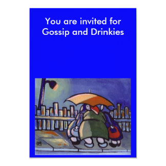 GOSSIP AND DRINKS INVITE
