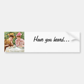 Gossip Bumper Sticker