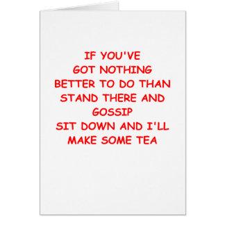 GOSSIP CARD