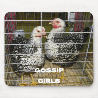 GOSSIP GIRLS MOUSE PAD