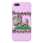 Gossip Hound gld iPhone 5 Covers