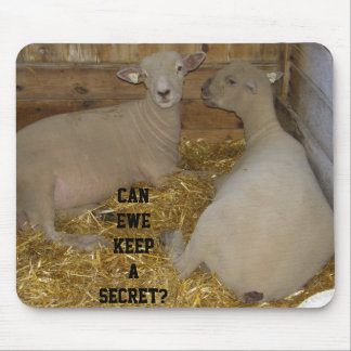GOSSIP SHEEP MOUSE PAD