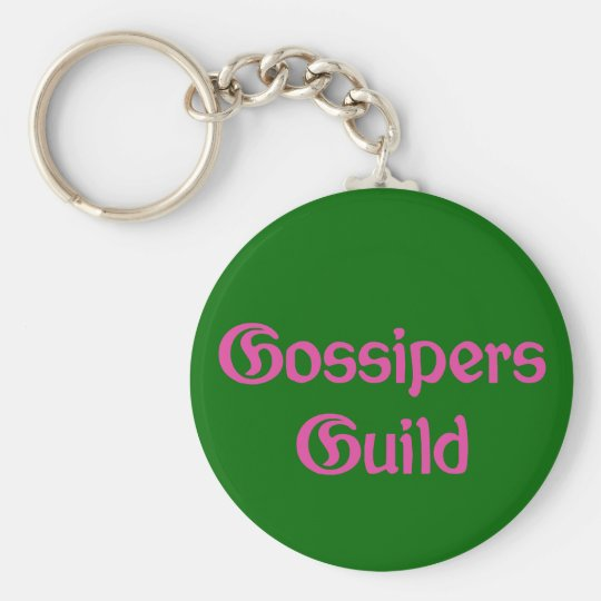 Gossipers Guild Keychain
