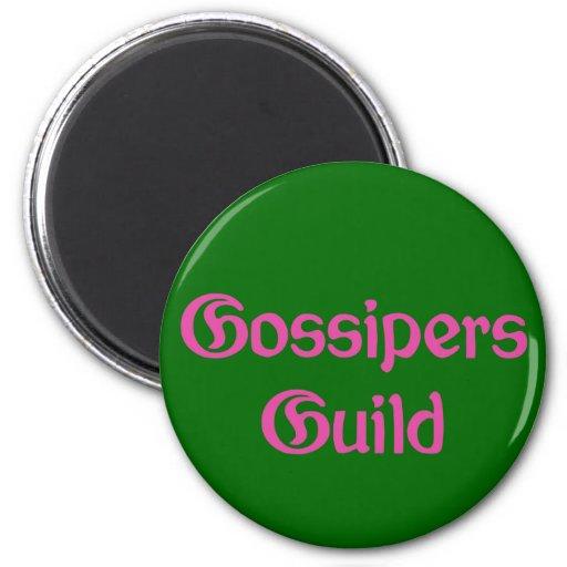 Gossipers Guild Refrigerator Magnet