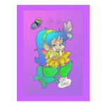 Gossiping Fairy Postcard