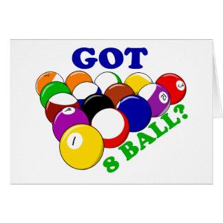 Got 8 Ball Pool Player Card
