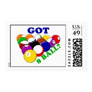Got 8 Ball Pool Player Postage