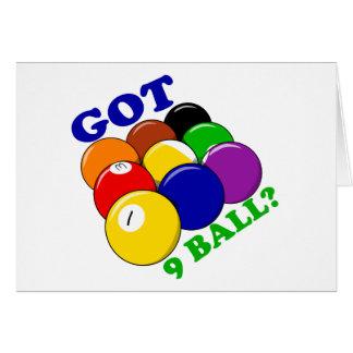 Got 9 Ball Pool Player Card