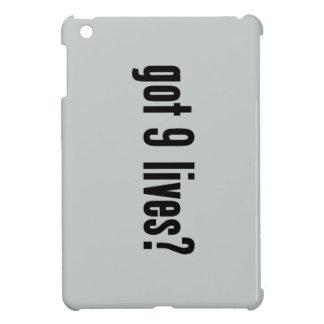 got 9 lives? iPad mini cases