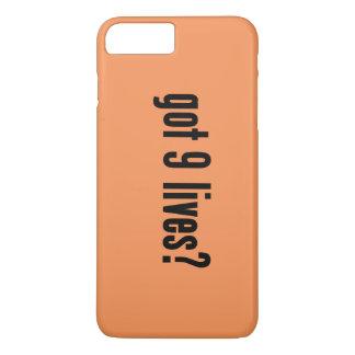 got 9 lives? iPhone 7 plus case
