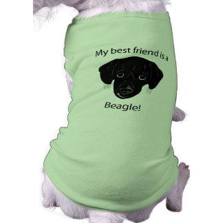 Got a beagle best friend pet tee shirt