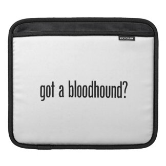 got a bloodhound sleeves for iPads