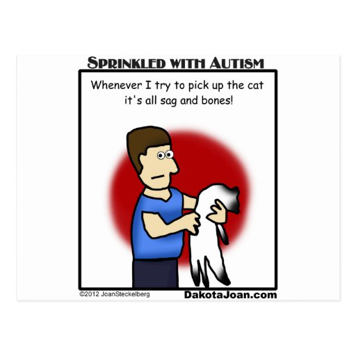 got a friend with autism or a cat or both? post cards