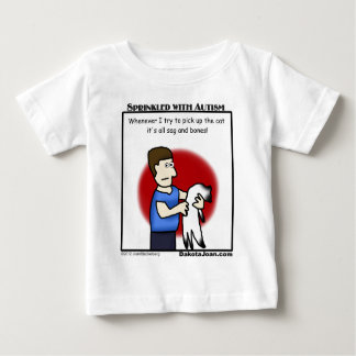 got a friend with autism or a cat or both? t shirt